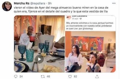 HOY / Salomón, Samaniego, Lugo y Pereira, entre vinos y risas
