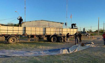 16 mil litros de acetona incautados en el Chaco