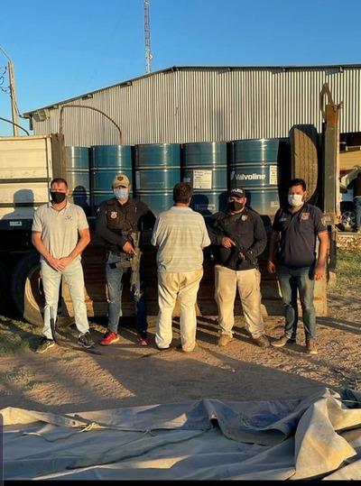 Incautan en el Chaco mayor cargamento de precursores para elaborar cocaína