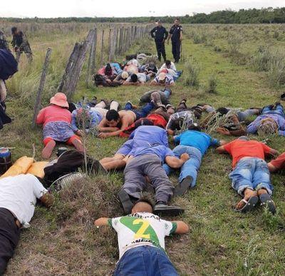 Incidentada ocupación en Caazapá deja un policía herido