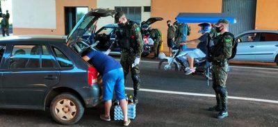 Ejército brasileño CONTROLA la frontera con Paraguay