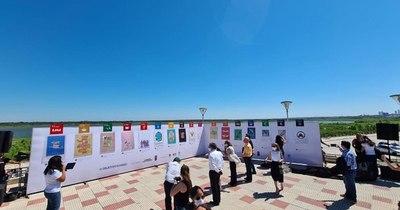 La Nación / A fin de generar conciencia, pintaron murales enfocados en la sostenibilidad