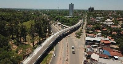 La Nación / Avanza tramo final de obras del viaducto