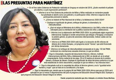 Diputados interpelan mañana a la  ministra por Plan Nacional de Niñez