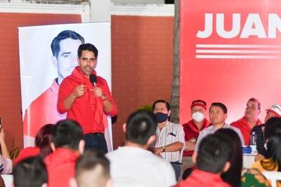 Juan Marcel Pereira con buenas chances de ser candidato de Concordia Colorada
