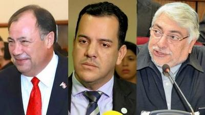 """HOY / La """"izquierda colorada"""" con Abdo en Palacio: agenda incluyó deuda de productores"""