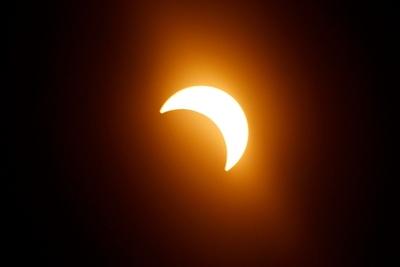 Hoy se registrará un eclipse parcial de sol