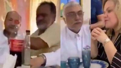 HOY / Políticos colorados y de izquierda en almuerzo con Zuni Castiñeira