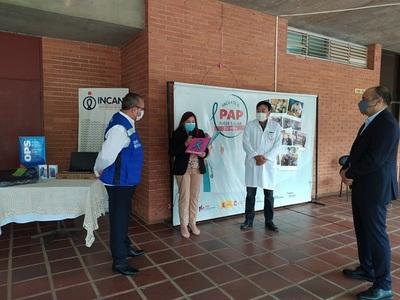 OPS entrega equipos e insumos al Incan para la lucha contra el coronavirus