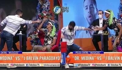 "Reviví la pelea entre ""J Balvin paraguayo"" y ""Dr. Medina"""