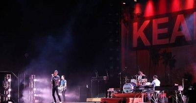 La Nación / Keane transmitirá la grabación de su concierto brindado en Asunción