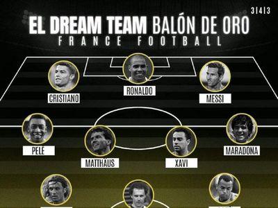 El mejor equipo de la historia del fútbol