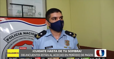Pago de aguinaldo: Recomendaciones para evitar asaltos