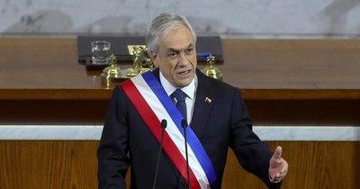 La Nación / Presidente chileno rechaza indulto para detenidos en estallido social y anticipa veto