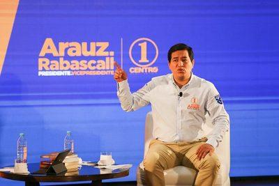 Candidato correísta plantea fuerte inyección monetaria en el mercado ecuatoriano
