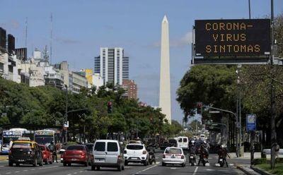 Argentina superó el millón y medio de contagios desde que empezó la pandemia