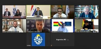 Mercosur analizó coyuntura económica del bloque e impacto de la pandemia