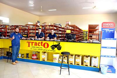 Tracto Agro Vial habilita sucursal en Campo 9 y ofrece promociones