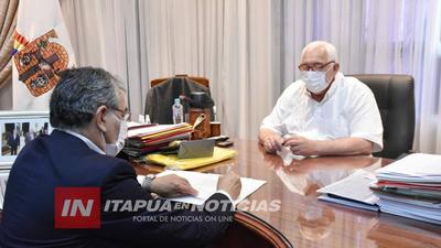 GOBERNACIÓN RECIBE MÁS DE GS. 5.000 MILLONES PARA SALUD Y PROYECTOS PRODUCTIVOS EN ITAPÚA