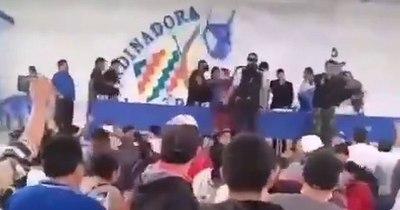 La Nación / Silletazo contra Evo Morales desnuda disputas