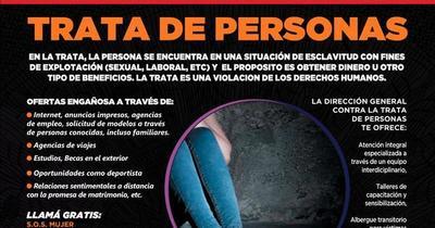 Ejecutivo aprueba Plan Nacional para Prevención y Combate de Trata de Personas