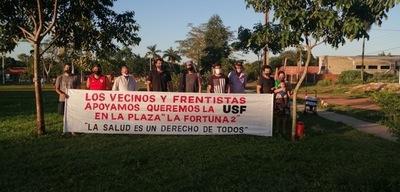 Plaza La Fortuna II: vecino explica por qué está a favor de la USF