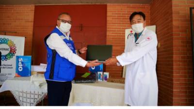 OPS entrega equipos al Incan para fortalecer lucha contra el coronavirus