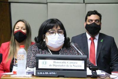 """Martínez """"derribó"""" mentira instalada en Plan de Niñez, cuyo origen se remonta al gobierno de Cartes"""