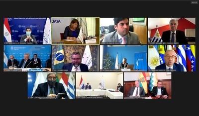 Cancilleres del Mercosur evaluaron el estado del proceso de integración