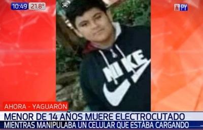 Adolescente muere tras recibir descarga eléctrica de celular en carga