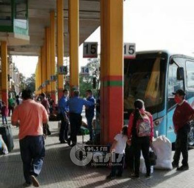 Horario de buses no será liberado para temporada de fiestas de fin de año