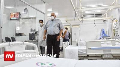 ANUNCIAN EL EQUIPAMIENTO DE HOSPITALES PARA EL 2021