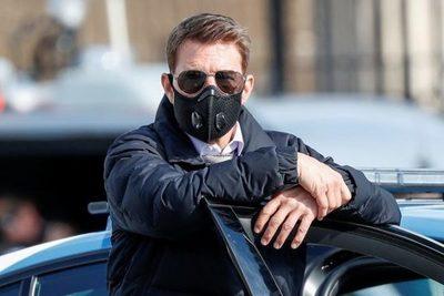 La furia de Tom Cruise porque compañeros de filmación no usaron mascarillas (Audio)