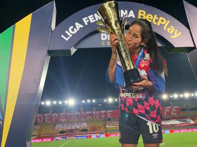 Fany Gauto, la capitana paraguaya que es campeona en Colombia
