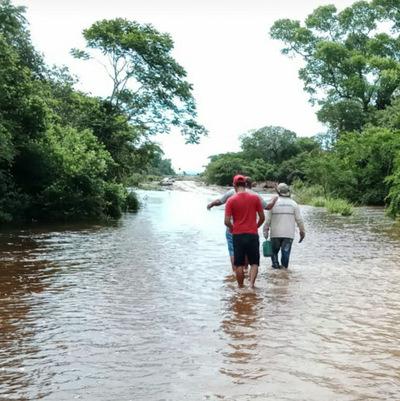 San Alfredo: Localidades ribereñas totalmente aisladas