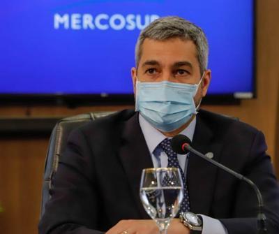 Cumbre del Mercosur: Mario Abdo pidió a Alberto Fernández la apertura de las fronteras