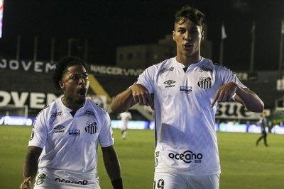 Santos marca uno de los goles más rápidos de la Libertadores