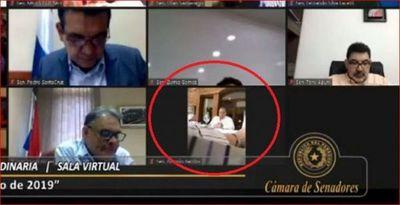 Video: Almuerzo entre Cartes, González Daher y senador Toño Barrios se filtra en sesión de Senado