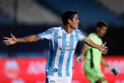 Con un golazo de Melgarejo, Racing saca ventaja sobre Boca Juniors