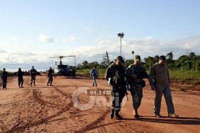 Reportan 3 abatidos y 5 detenidos tras operativo en el zona de Yby Yau