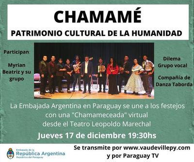 Paraguay TV transmitirá festejos por reconocimiento del Chamamé como Patrimonio de la Humanidad