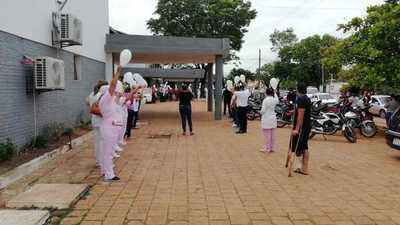 Concepción: emotiva despedida a personal de salud fallecido por Covid-19 (video)