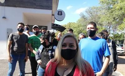 HOY / Postulantes del ISEPOL protestan contra modificación del reglamento de admisión