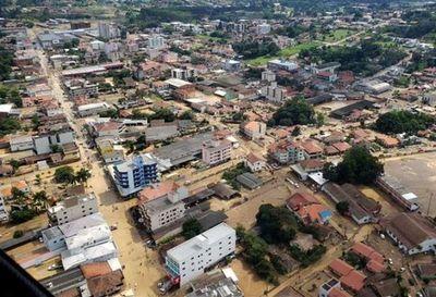 Al menos 7 muertos por lluvias en el sur de Brasil
