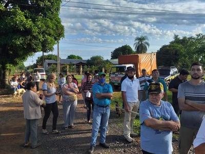 Tras duplicación comunidades de Coronel Oviedo quedan aisladas – Prensa 5