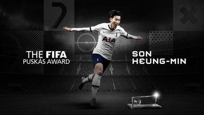 Son Heung-min se queda con el Premio Puskás al mejor gol