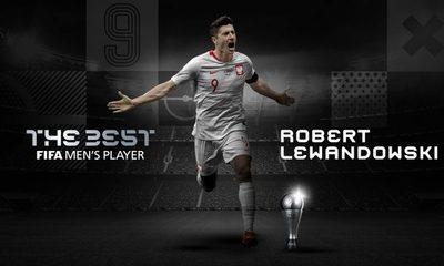 Robert Lewandowski es elegido mejor jugador del 2020