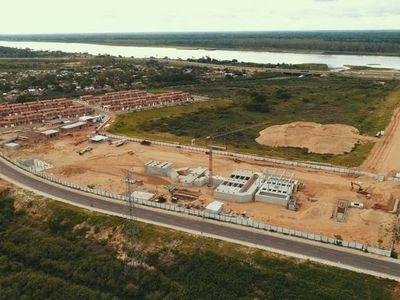 A tres años de adjudicación, por fin avanza la planta de tratamiento cloacal del Bañado Norte