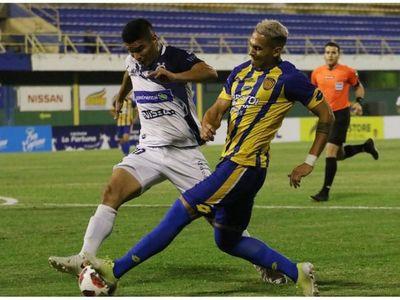 Promesa de buen fútbol en Luque