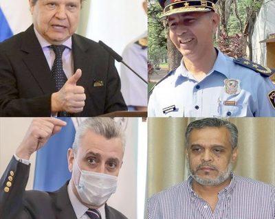 Jefes policiales de la zona protegidos por ministro del Interior y Villamayor – Diario TNPRESS
